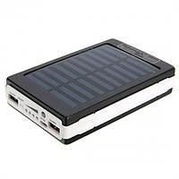 Power Bank Solar Charger 30000mAh, черный