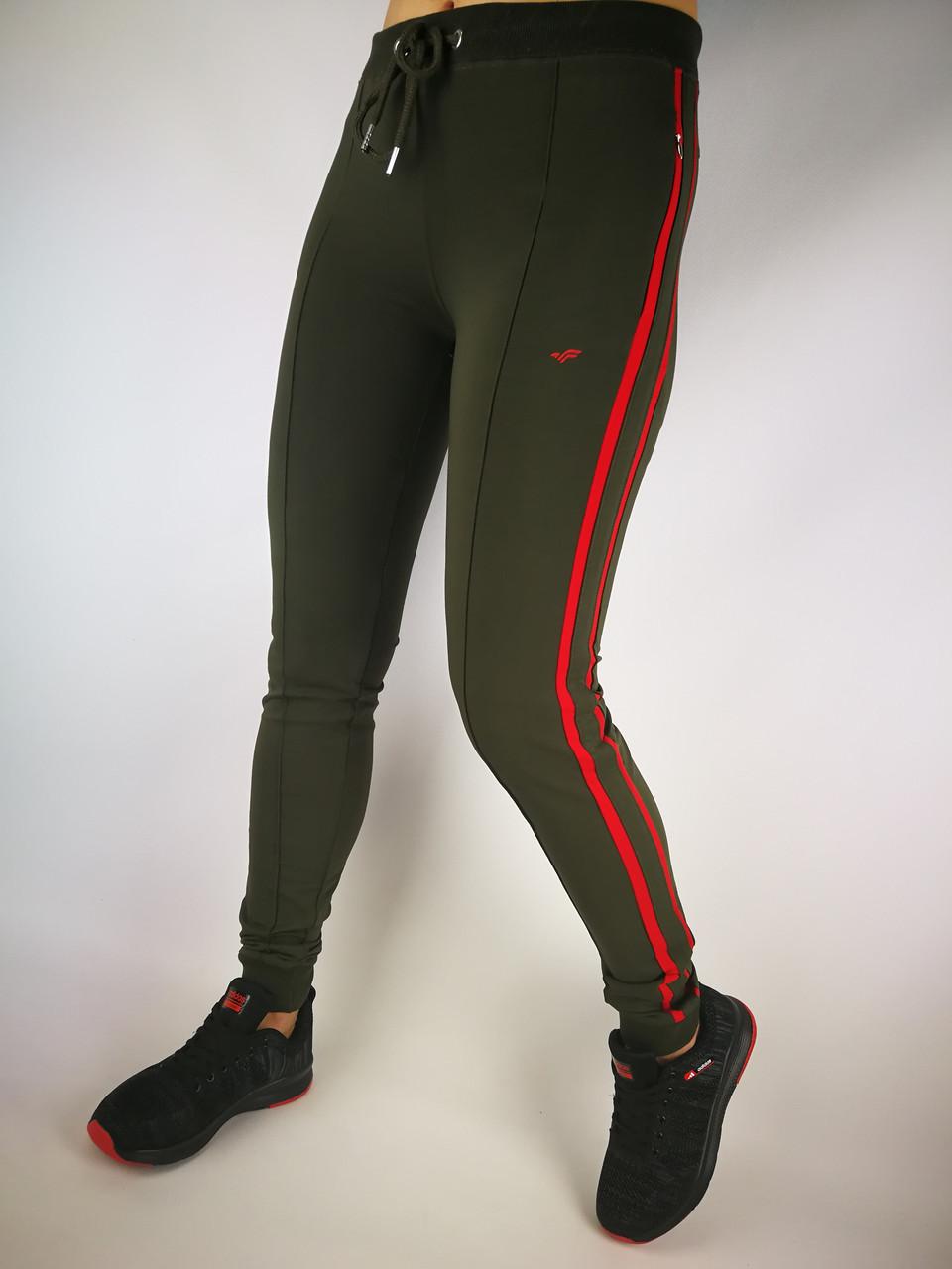 Женские трикотажные спортивные штаны