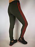 Женские трикотажные спортивные штаны, фото 5