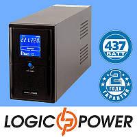 Источник бесперебойного питания ИБП, UPS LogicPower LPM-L625VA (437 Вт) - Гарантия 2 года