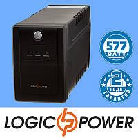 Источник бесперебойного питания ИБП, UPS LogicPower LPM-825VA-P (577 Вт) - Гарантия 2 года
