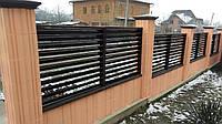 Забор жалюзи, одностороннее, двухстороннее покрытие Oberig, фото 1