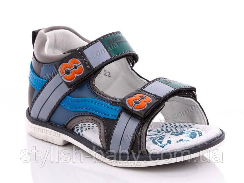 Детская летняя обувь оптом. Детские босоножки бренда Y.TOP для мальчиков (рр. с 22 по 27)