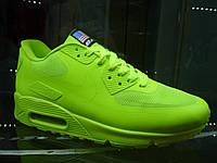 Кроссовки Nike Air Max 90 Hyperfuse USA FLAG салатовые