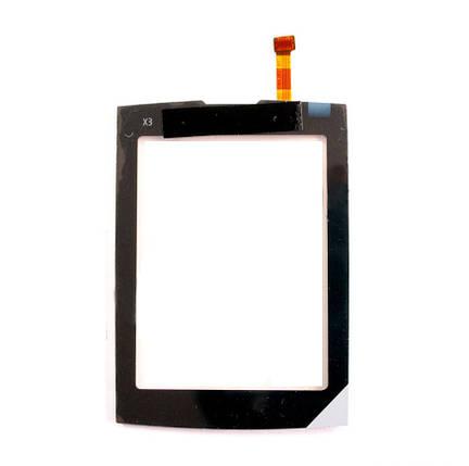 Тачскрин для Nokia X3-02. чрный. оригинал Китай), фото 2
