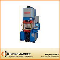 Гидравлический пресс 125 тонн с системой ЧПУ модели Т.125 4С