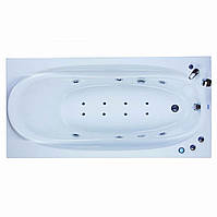 Гидромассажная ванна Devit COUNTRY 1700x750x680 Classic, аэромассаж, подсветка 17011125А