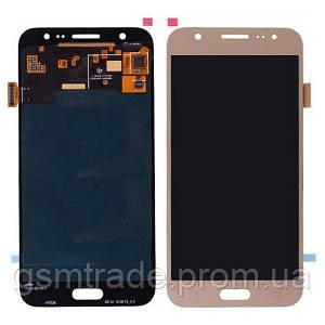 Дисплей Samsung J500 Galaxy J5 с тачскрином (Gold) TFT с регулировкой яркости