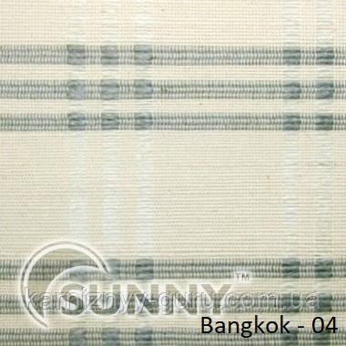 Рулонные шторы для окон в открытой системе Sunny, ткань Bangkok