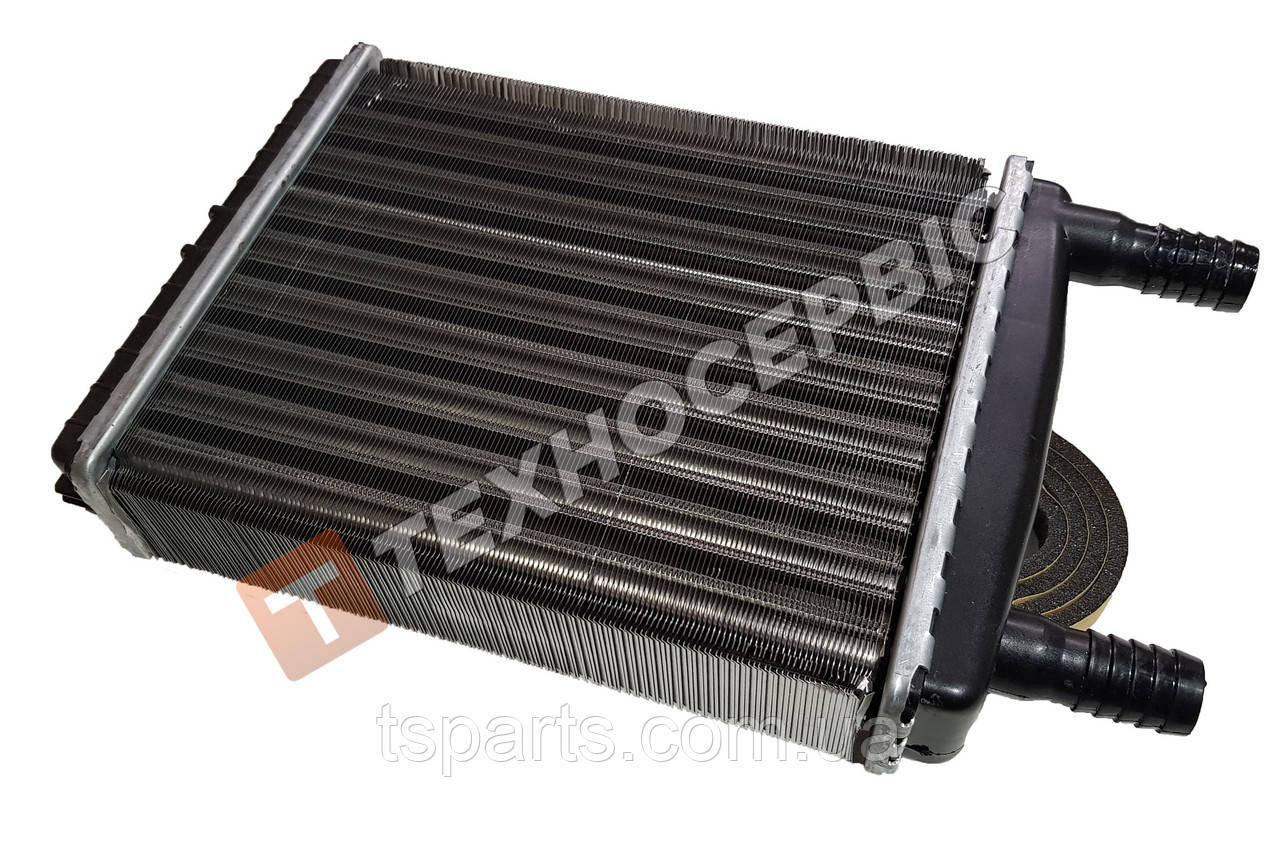 Радиатор отопителя ГАЗ-3302, 33027, 2705, 3221, 2217, 33104,d=16мм (3302-8101060-01)Trukman