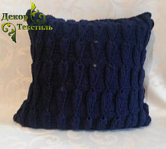 "Вязаная подушка, диванная ""Линда"", фото 2"
