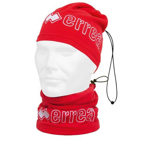 Баф для шеи Errea JUMAR красный/белый (T710000050), фото 2