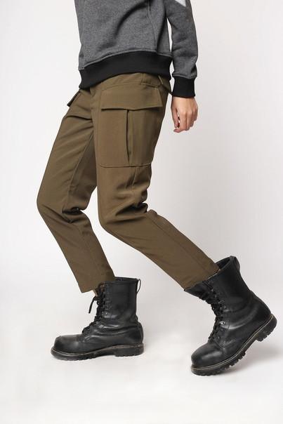 Карго штаны женские хаки от бренда ТУР модель Китана (Kitana) размер S, M,L,XL