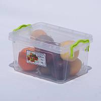 Контейнер пищевой пластиковый Lux 1.5 л , фото 1