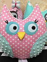 Подушка игрушка сова, Совушка подарок ребенку