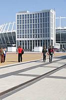 Тротуарная плитка Кирпич 240х160 - черный, фото 1