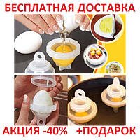Формы для варки яиц без скорлупы Яйцеварка CARDBOARD PACK eggies hard boiled eggs Original size, фото 1