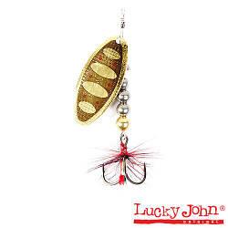 Блесна вращ.  Lucky John SHELT BLADE 04 001 Tungsten Body