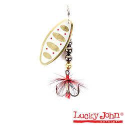 Блесна вращ.  Lucky John SHELT BLADE 04 002 Tungsten Body