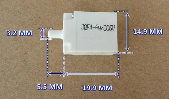 Клапан JQF4 - 6A электромагнитный для электронных тонометров, 6 V