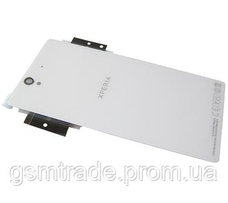 Задняя панель корпуса Sony C6602/C6603/C6606 Xperia Z (White) Original
