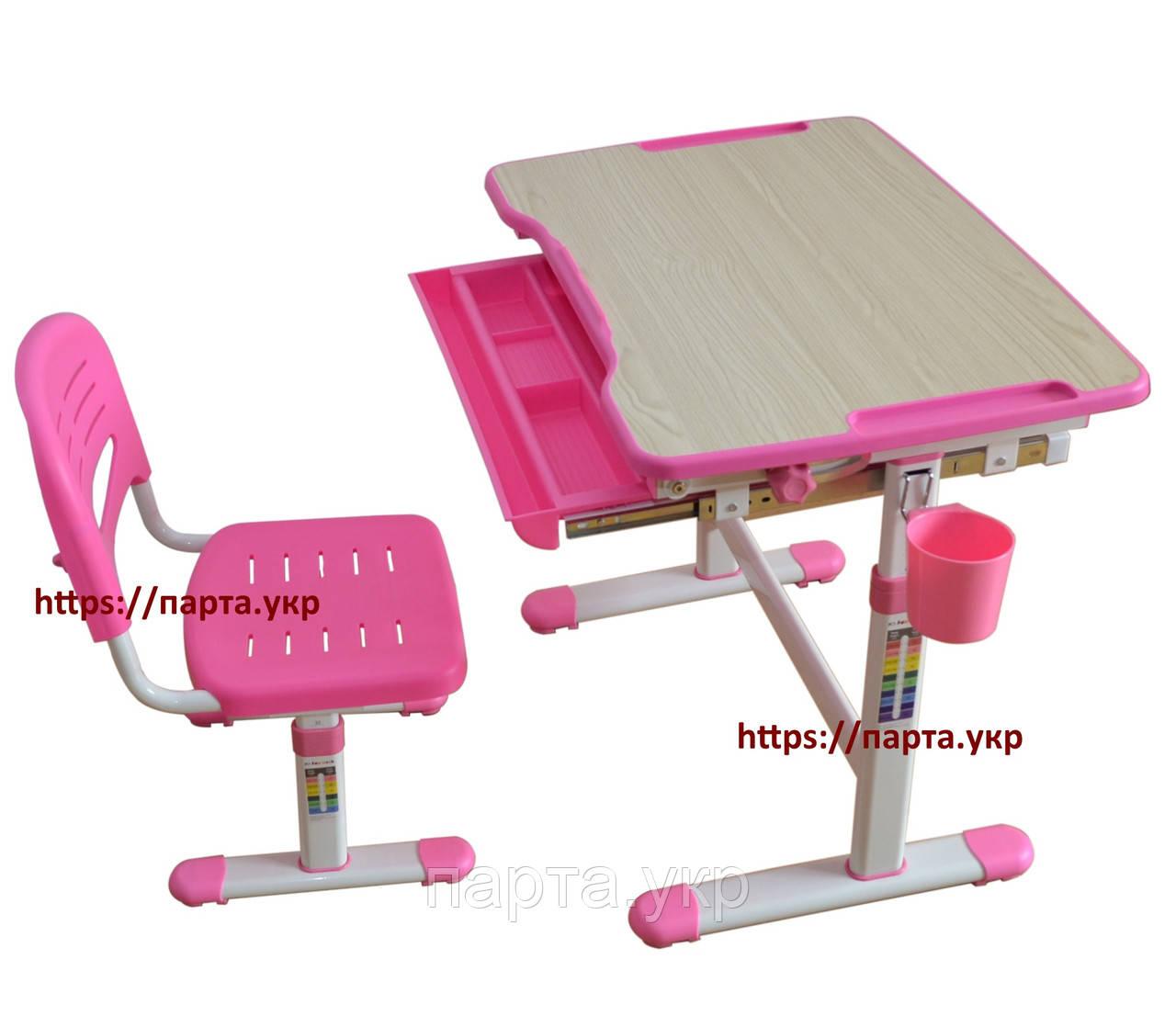 Комплект парта и стул-трансформеры Piccolino, 3 цвета