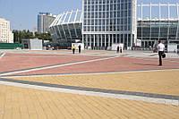 Тротуарная плитка Кирпич 240х160 - персиковый
