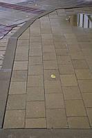 Тротуарная плитка Кирпич 240х160 - желтый, фото 1