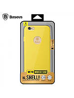 Накладка Baseus (Mousse) Apple iPhone 6, 6S Желтая