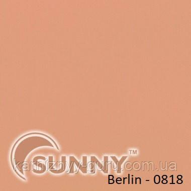 Рулонные шторы для окон в открытой системе Sunny, ткань Berlin - 2