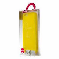 Чехол-накладка OZAKI O!coat 0.3 Jelly Apple iPhone 5, 5S Желтый