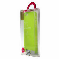 Чехол-накладка OZAKI O!coat 0.3 Jelly Apple iPhone 5, 5S Зеленый