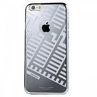 Накладка Remax Maze Series iPhone 6 Silver (пластик)