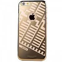 Накладка Remax Maze Series iPhone 6 Gold (пластик)