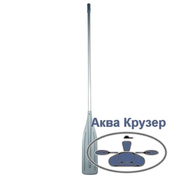 Весла 2 м разборные алюминиевые с лопаткой, цвет серый, для лодок