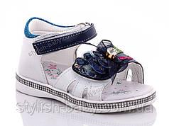 Детская летняя обувь оптом. Детские босоножки бренда Y.TOP для девочек (рр. с 22 по 27)