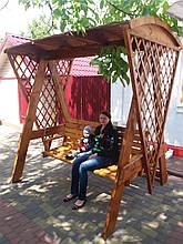 Качель деревянная