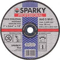 Диск SPARKY отрезной 125x1.6x22.2 абразивний A 60 S по нерж.стали (20009562000)