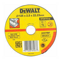Диск DeWALT 125х2.5х22.2мм., отрезной по металлу (DT3410-QZ)