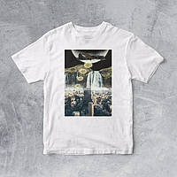 Стильные  футболки (унисекс)  с принтами