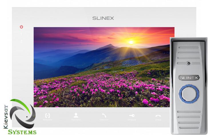 Видеодомофон Slinex SQ-07M | Вызывная панель Slinex ML-15HR