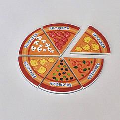 "Мягкие магниты ""Круг пицца"". Диаметр 90 мм. Толщина 3 мм"