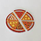 "Мягкие магниты ""Круг пицца"". Диаметр 90 мм. Толщина 3 мм, фото 2"