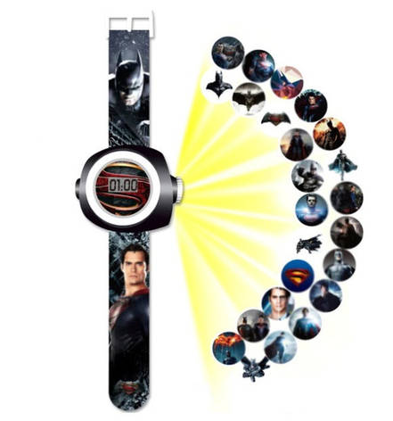 """Детские наручные часы с 3d проектором """"Бэтмен (Batman)"""", фото 2"""