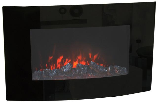 Настенный электрический камин Bonfire EL1118 (закругленная форма)