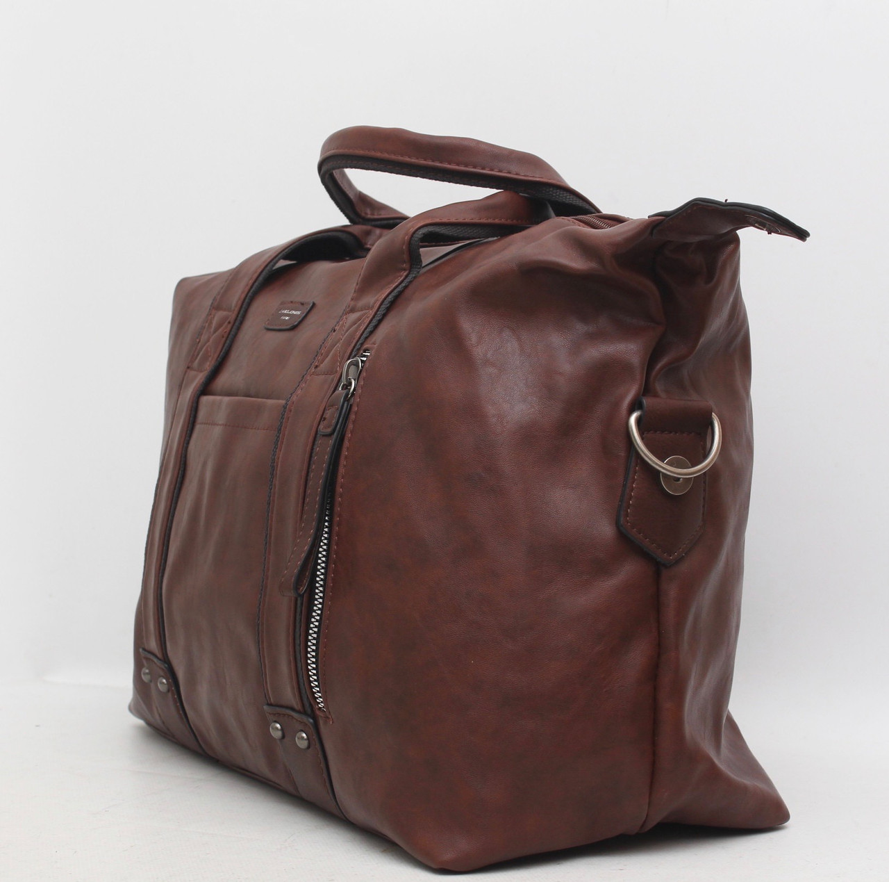 e94ef7dfaccb ... фото Мужская дорожная сумка David Jones в дорогу кожаная (кожа  искусственная) Дэвид Джонс, ...