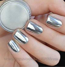 Втирка зеркальная серебряная GLOBAL 01