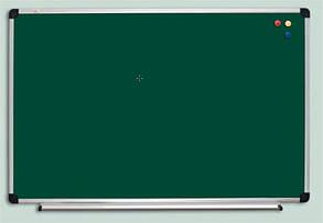 Доска для мела ABC Office (90x50), в алюм.рамке S-line, фото 2