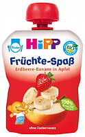 Пюре яблоко-клубника-банан хипп hipp HIPP