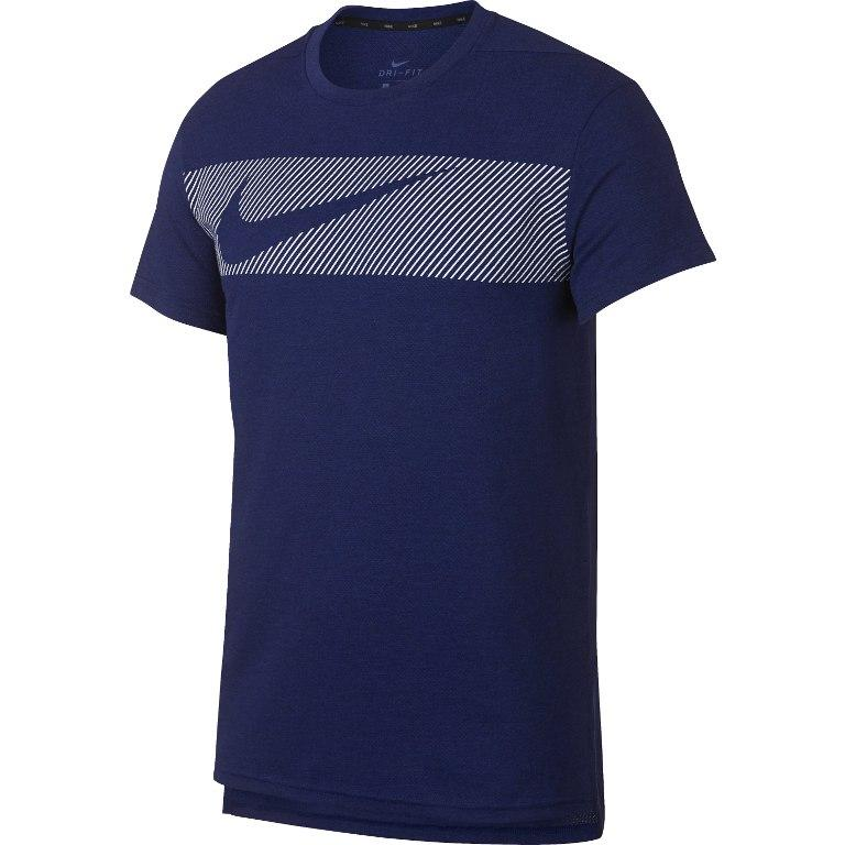 Футболка Nike Dry-Fit Breathe graphic синяя